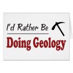Esté haciendo bastante la geología felicitación