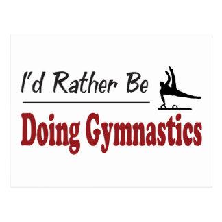 Esté haciendo bastante la gimnasia postales