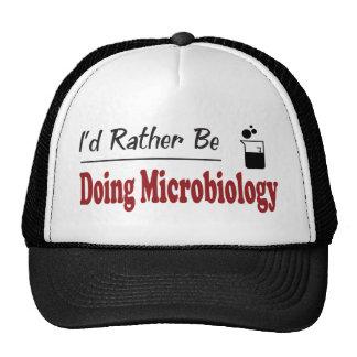 Esté haciendo bastante la microbiología gorros bordados