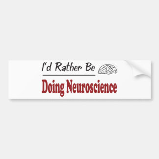 Esté haciendo bastante la neurología pegatina de parachoque