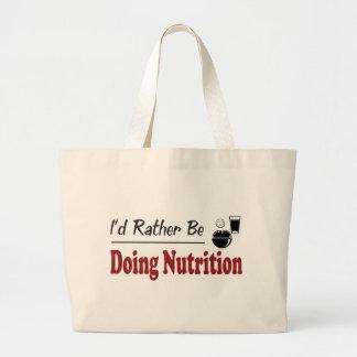 Esté haciendo bastante la nutrición bolsa