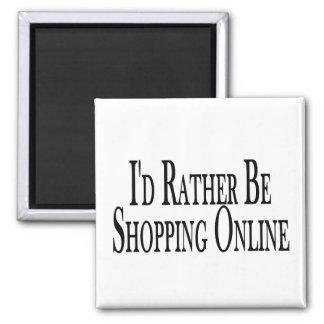Esté haciendo compras bastante en línea imán