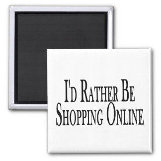 Esté haciendo compras bastante en línea imán cuadrado