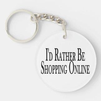 Esté haciendo compras bastante en línea llavero redondo acrílico a doble cara