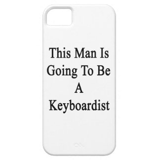 Este hombre va a ser teclista iPhone 5 fundas