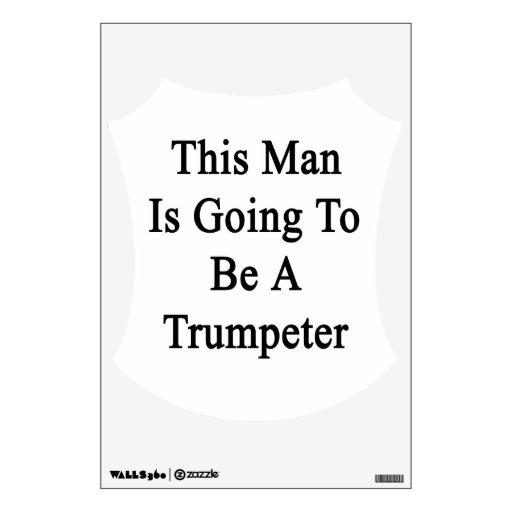 Este hombre va a ser un trompetista vinilo
