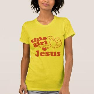 Este individuo ama a Jesús Playera
