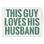 Este individuo ama a su marido tarjeta