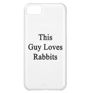 Este individuo ama conejos