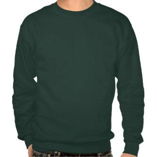 Este individuo ama el suéter feo del navidad del pulover sudadera