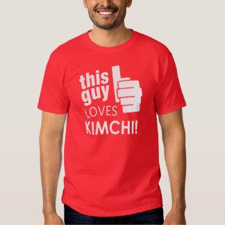 ¡Este individuo ama Kimchi! Polera