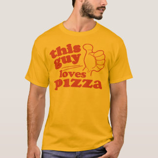 Este individuo ama la pizza playera