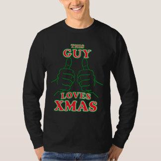 Este individuo ama Navidad Poleras