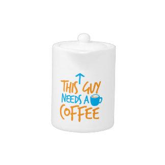 ¡Este individuo necesita un CAFÉ!
