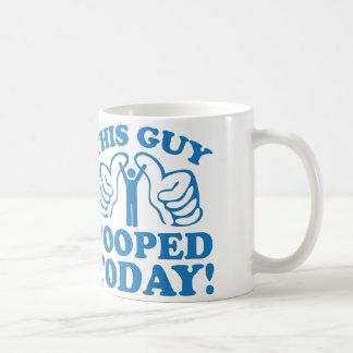 ¡Este individuo Pooped hoy! Tazas De Café