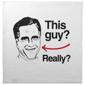 Este individuo realmente Romney.png Servilleta