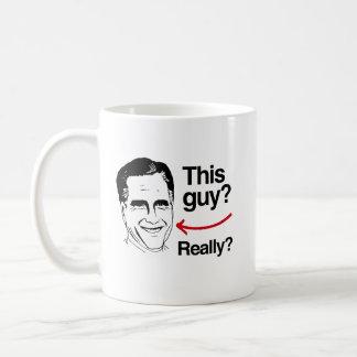 Este individuo realmente Romney.png Taza De Café