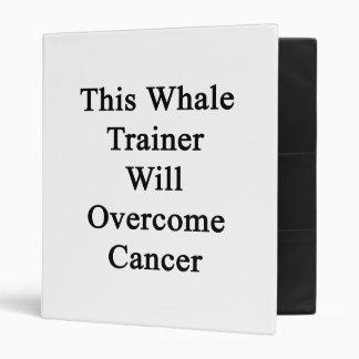 Este instructor de la ballena superará al cáncer