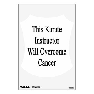 Este instructor del karate superará al cáncer