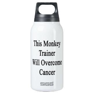 Este instructor del mono superará al cáncer