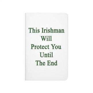 Este irlandés le protegerá hasta el extremo cuaderno grapado