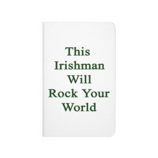 Este irlandés oscilará su mundo cuadernos