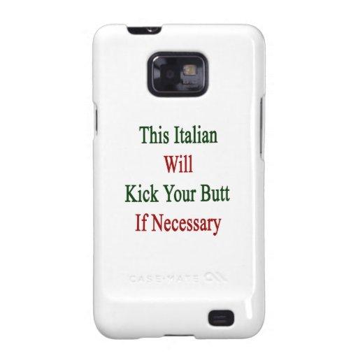 Este italiano golpeará su extremo con el pie en ca samsung galaxy s2 funda