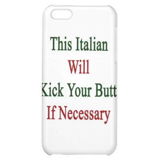 Este italiano golpeará su extremo con el pie en ca