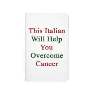 Este italiano le ayudará a superar al cáncer