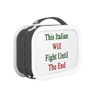 Este italiano luchará hasta el extremo