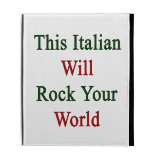 Este italiano oscilará su mundo