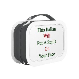 Este italiano pondrá una sonrisa en su cara