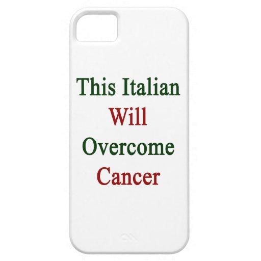 Este italiano superará al cáncer iPhone 5 fundas