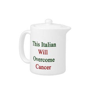 Este italiano superará al cáncer