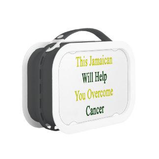 Este Jamaiacan le ayudará a superar al cáncer