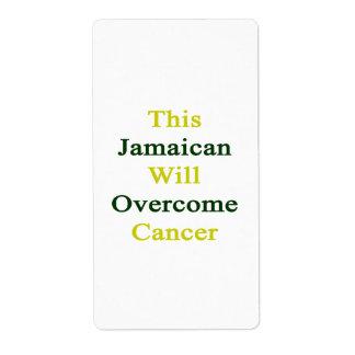 Este jamaicano superará al cáncer