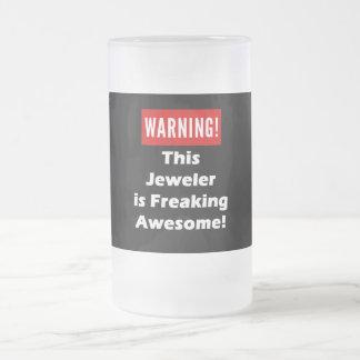 ¡Este joyero es el Freaking impresionante! Taza De Cristal