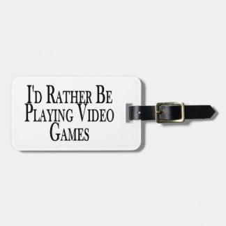 Esté jugando bastante a los videojuegos etiquetas maletas