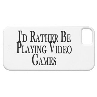 Esté jugando bastante a los videojuegos iPhone 5 carcasas