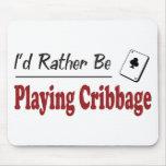 Esté jugando bastante Cribbage Tapetes De Raton