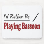 Esté jugando bastante el Bassoon Alfombrilla De Raton