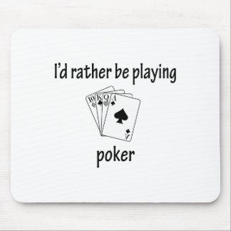 Esté jugando bastante el póker tapete de ratones