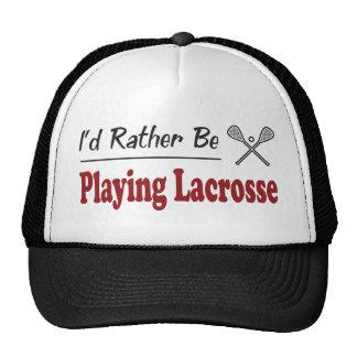 Esté jugando bastante LaCrosse Gorro