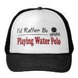 Esté jugando bastante water polo gorra