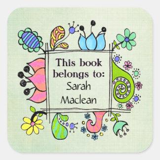 Este libro pertenece a la etiqueta autoadhesiva de