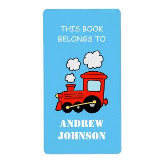 Este libro pertenece a las etiquetas del bookplate etiquetas de envío