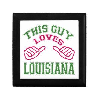 Este los individuos aman Luisiana Caja De Regalo