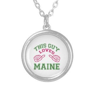 Este los individuos aman Maine Collares Personalizados