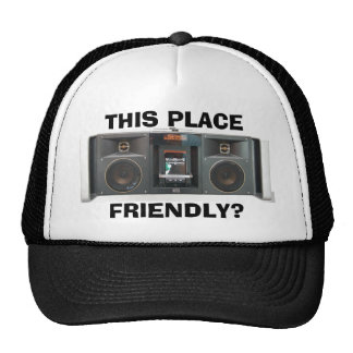 Este lugar Beatbox amistoso Gorro