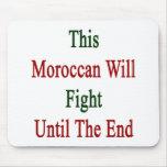 Este marroquí luchará hasta el extremo tapetes de ratones